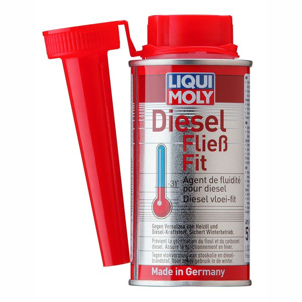 Diesel-fließ-fit